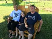Click to enlarge image With room for Dad!! - Memorial Bench - To Honor, Remember or Celebrate